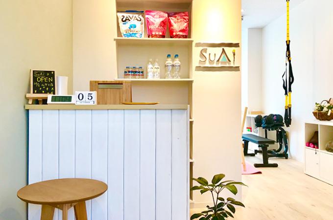 パーソナルトレーニングスタジオ SuAi 武蔵小杉店 入口です
