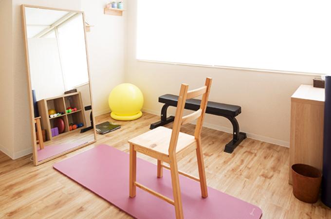 パーソナルトレーニングスタジオ SuAi 調布店 トレーニングルームです